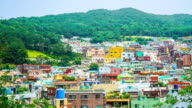 timelapse Gamcheon Culture Village in Busan