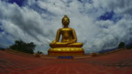 Time-lapse : Golden buddha