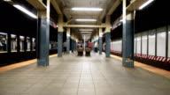 Timelapse in New York City - subway