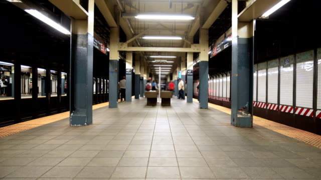 Timelapse in New York City - subway