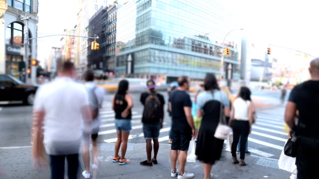 Timelapse in New York City