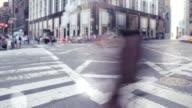 Timelapse in New York City
