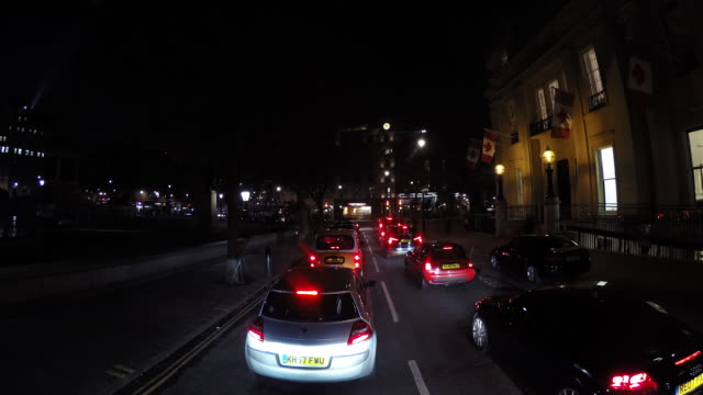 Timelapse: London Streets At Night