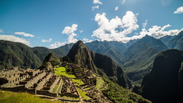 Timelapse - Machu Picchu