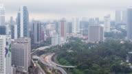 Time-Lapse Malaysia Stadt verkleinern video 4k.