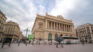 Time-lapse : Marsiglia Vieux Port affollata a vecchio