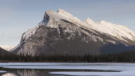 4K Time-Lapse: Mount Rundle