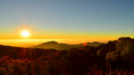 Time-lapse: Mountain Scenic Landscape at Sunrise