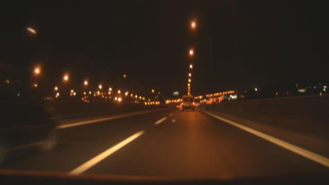 Timelapse Night Traffic