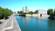 Time lapse in HD: La Cattedrale di Notre Dame di Parigi, Francia