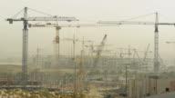 Timelapse of a construction site, Riyadh, Saudi Arabia.