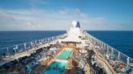 HAWAII - TimeLapse of a cruise ship cruising