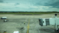 Timelapse of Airport Gate Preparations