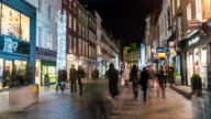 LONDON: TimeLapse of Bond Street Christmas decoration