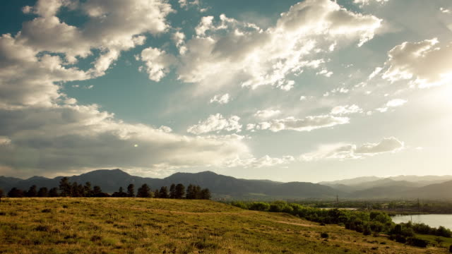 Timelapse of Boulder, Colorado, USA