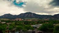 Timelapse of Boulder, Colorado, USA