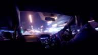 Timelapse der Verkehr