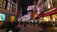 LONDON: TimeLapse of Carnaby street with Christmast Light