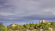Timelapse of Church in Benejúzar.