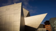 Timelapse of Denver Art Museum Architecture