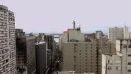 Timelapse of Downtown Porto Alegre City