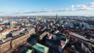 HAMBURG: TimeLapse of Hamburg cityscape from above