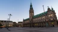 HAMBURG: TimeLapse of Hamburg Rathaus