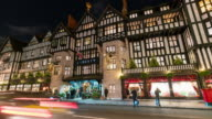 LONDON: TimeLapse of Liberty shopping centre in London with Christmas decoration