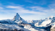 Timelapse of Matterhorn, Switzerland, Zermatt