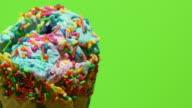 Timelapse of Melting Ice Cream
