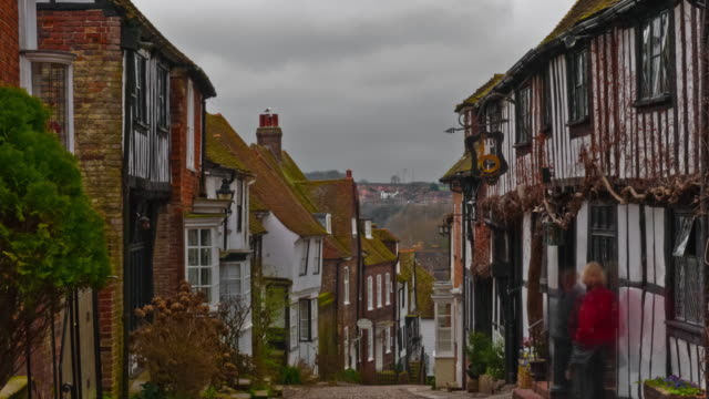 Time-lapse of Mermaid Street in Rye, East Sussex
