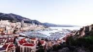 Time-lapse of Monaco in the morning