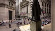Timelapse of New York Stock Exchange