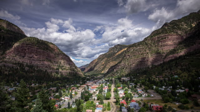 Timelapse of Ouray, Colorado