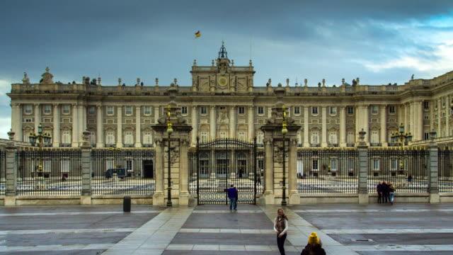 Timelapse of Palacio Royal de Madrid