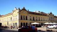 TimeLapse of Public Market Porto Alegre City