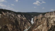 Timelapse of river in Yellowstone National Park