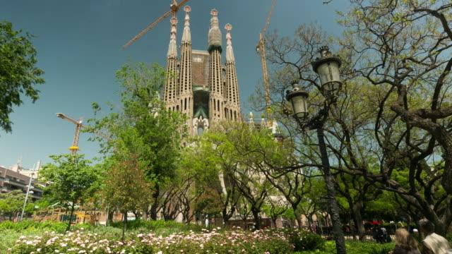 Timelapse of Sagrada de Familia