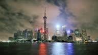 Timelapse of Shanghai Skyline