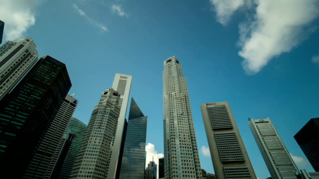 Time-lapse of Singapore Central Business District