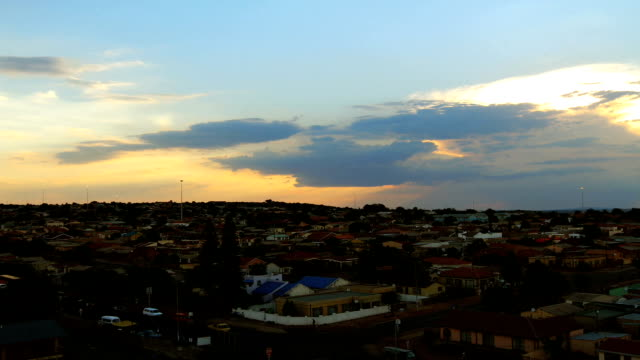 Time-lapse of Soshanguve township/ Pretoria/ South Africa