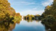LONDON - TimeLapse of St James Park in Autumn