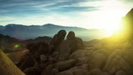 Timelapse of Sunrise in the Owens Valley from Alabama Hills