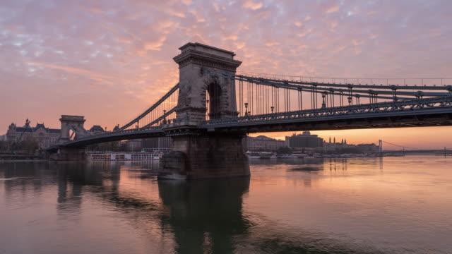 Timelapse of Széchenyi Chain Bridge