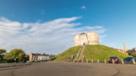 YORK: TimeLapse of the Clifford's Tower in York