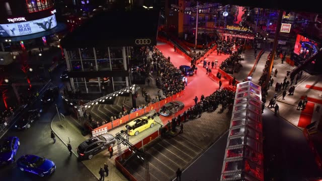 Timelapse of the closing ceremony of the 67th Berlinale International Film Festival Berlin at Berlinale Palace on February 18 2017 in Berlin Germany