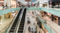 timelapse of the Dubai Mall shopping center