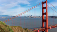 SAN FRANCISCO: TimeLapse of the Golden Gate Bridge from above