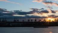 HAMBURG: TimeLapse of the harbour in Hamburg