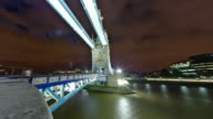 Time-lapse of the Tower Bridge in London